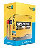 Software : Learn Spanish: Rosetta Stone Bonus Pack Bundle (Lifetime Online Access + Grammar Guide and Dictionary Book Set)