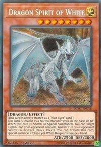 (Dragon Spirit of White - LCKC-EN018 - Secret Rare - 1st Edition - Legendary Collection Kaiba Mega Pack (1st Edition))