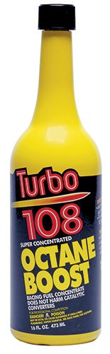 Blue Magic NA30-12PK Turbo 108 Octane Boost - 16 fl. oz., (Pack of 12)