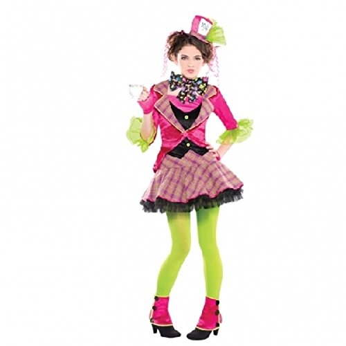 [Mad Hatter Fancy Dress Teen M] (Mad Hatter Costume Female)