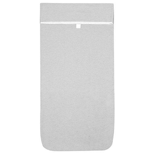 Kushies Baby Multi-fit Adjustable Bassinet Sheet, Grey by Kushies