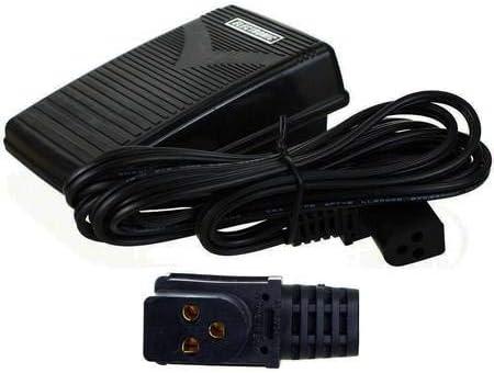 La Canilla ® - Pedal para Máquinas de Coser Singer 258, 368, 518, 8220 de 3 Conexiones REF 979314-031