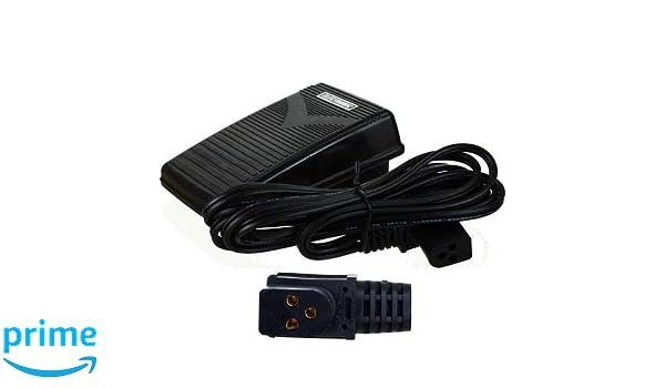 La Canilla ® - Pedal para Máquinas de Coser Singer 258, 368, 518, 8220 de 3 Conexiones REF 979314-031: Amazon.es: Hogar