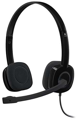 Logitech 981 000587 Analog Stereo Headset Microphone product image