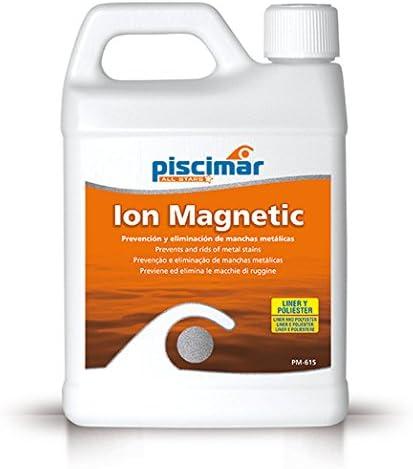 Piscimar PM-615 Ión Magnetic: eliminación y prevención de Manchas metálicas Botella 1.2 kg.