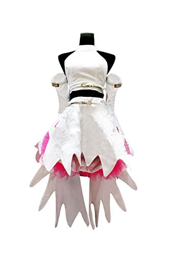 Code Geass Lelouch Cosplay Costumes (Mtxc Women's Code Geass: Lelouch of the Rebellion Cosplay Costume Anya Alstreim Dress Size Large White)