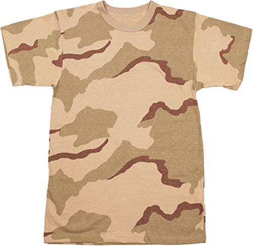 - Army Universe Tri-Color Desert Camouflage Short Sleeve T-Shirt Pin - Size Large (41