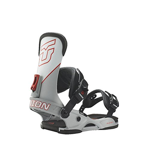 Union Factory Snowboard Bindings Silver Sz M/L (8-11) Mens by Union Binding