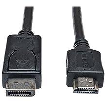 Tripp Lite P582-015 DisplayPort-HD Cable Adapter, DP-HDMI (M/M), 15'