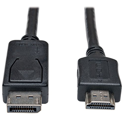 Tripp Lite DisplayPort to HDMI Cable Adapter, DP to HDMI (M/M), 1080p, 15 ft. ()