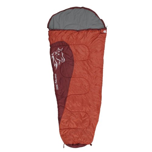 10T Children's sleeping bag MORLEY 300 - mummy shape only 1060g