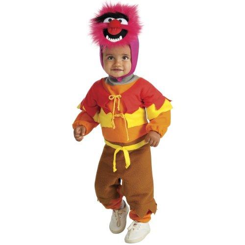 Muppets Ez-On Animal Romper, Red, Infant Costume for $<!--$12.19-->