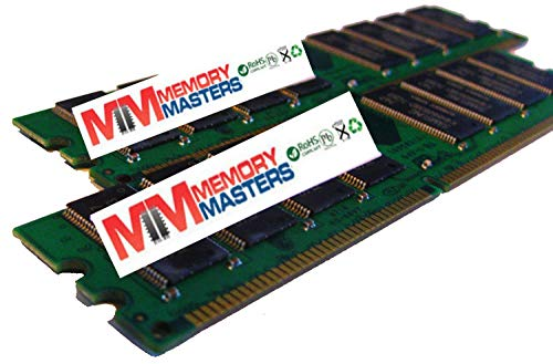 X 512MB PC2700 333MHz 184 pin DDR SDRAM Non-ECC DIMM Memory RAM for HP Compaq Evo Business Desktop D530 (MemoryMasters) ()