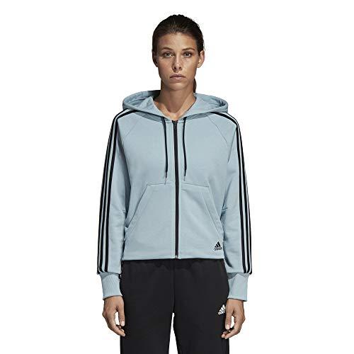 Felpa Women's Cappuccio Donna Must Full stripes Haves 3 Adidas Con zip Hoodie Ash S18 Grey 1HTwAqwU