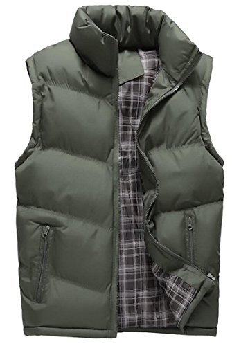 Collar 2 Puffer Vest Down amp;S Stand Men's M amp;W Outdoor Winter wFvPnXq