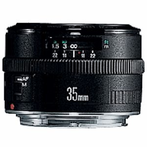 Canon EF 35mm f/2 Wide Angle Lens for Canon SLR Cameras (OLD MODEL)