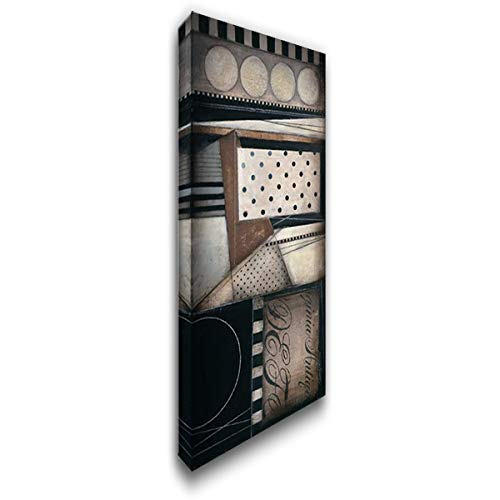 Fancy Letters II 22x40 Gallery Wrapped Stretched Canvas Art by Poloson, Kimberly