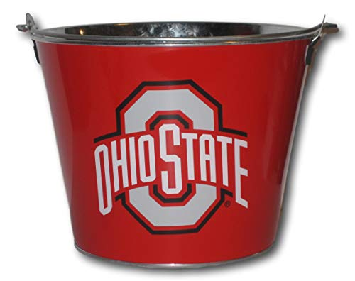 Ohio State Buckeyes Red Beer Bucket (Bucket State Party)