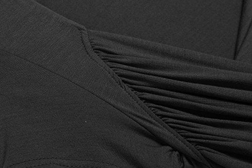 Black Zeagoo Camicia Donna Black Zeagoo Zeagoo Camicia Donna Camicia r6RTrqn