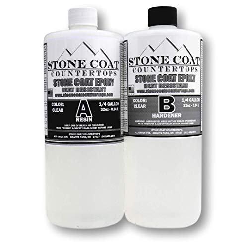 Stone Coat Countertops Epoxy (1/2 Gallon) Kit (Best Stone For Bathroom Countertop)