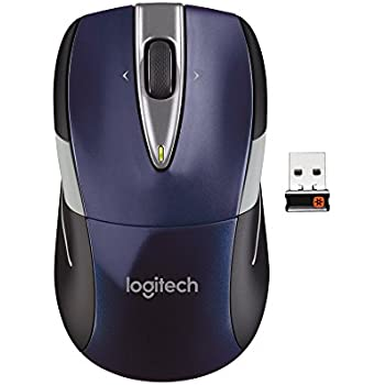 b6cbae5c70b Amazon.com: Logitech Wireless Mouse M525 - Navy/Grey: Electronics