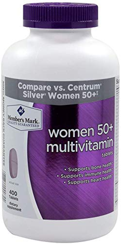 Member s Mark – Women 50 Multivitamin, 400 Tablets 2 Pack