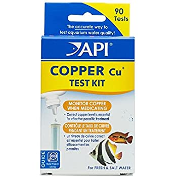 API COPPER TEST KIT 90-Test Aquarium Water Test Kit