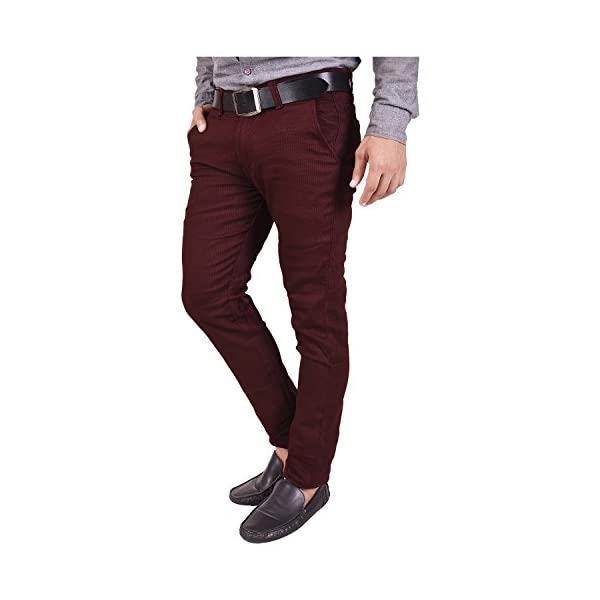 Nation Polo Club Men's Slim Fit Casual Trouser