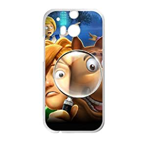 Beautiful Scooby Doo theme pattern design For HTC ONE M8 Phone Case