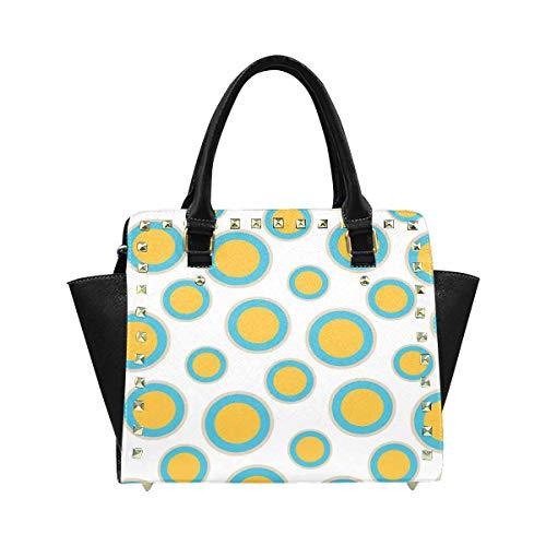 InterestPrint Polka Dot Hobo Handbags Tote Purse for Women Fashion Ladies