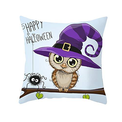 YWLINK DecoracióN del Hogar De Halloween Funda De Almohada ...