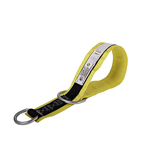 Guardian Fall Protection 10785 Premium 3-Foot Cross-Arm Straps with Large and Small D-Rings