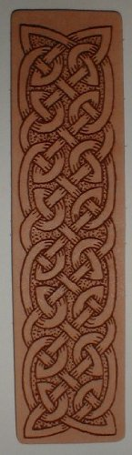 Celtic Knot Style 1 Leather (Celtic Knot Bookmark)