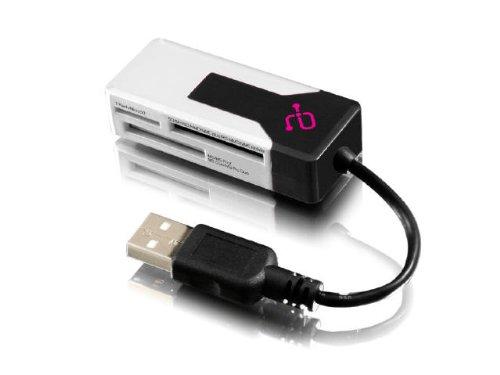Aluratek MicroSD/MiniSD USB 2.0 Multi-Media Card Reader