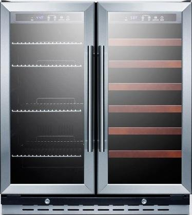 glass beverage refrigerator - 8