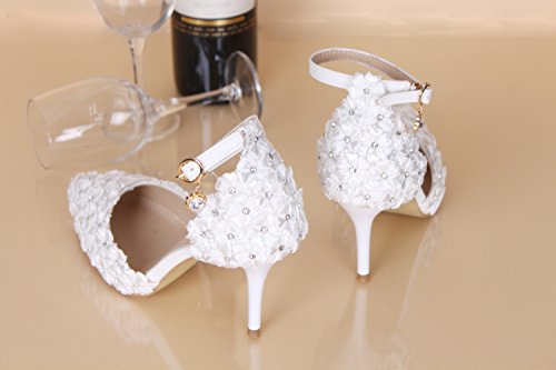 Drill Wedding Sharp Elegant Water VIVIOO Sweet High Wedding Performance Stage Bridal For Shoes Prom 4 Heels Shoes Shoes Ladies' Sandals Heels x77nA1ZY