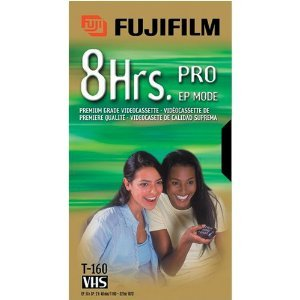 Fuji 23022161 Pro Vhs Video Tape (8 Hrs.) (Discontinued by Manufacturer)