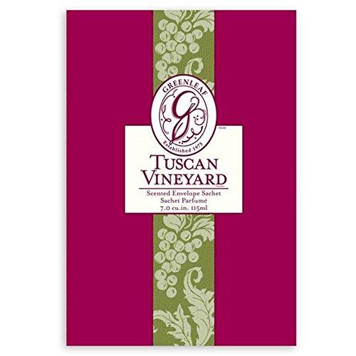 Greenleaf Large Scented Envelope Sachet Set of 6 - Tuscan Vineyard by Greenleaf Gifts (Image #1)