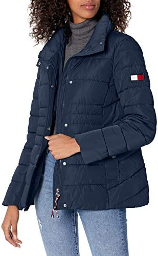 Tommy Hilfiger womens Short Heritage Puffer