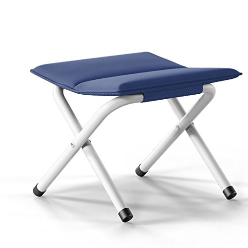 SANNIX Portable Folding Stool for Traveling Hiking Ultralight Compact Outdoor Camp Chair Great for a Quick Rest