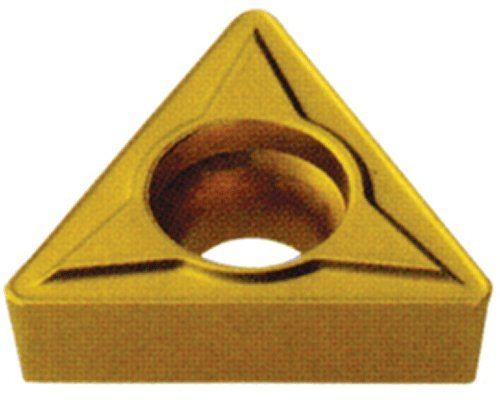 CM14 Grade 1//64 Radius Multilayer Coated TPGB 221 Pack of 10 Cobra Carbide 41344 Solid Carbide Turning Insert TPGB Style 1//8 Thick