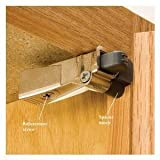 Blum 971A9700.22x10 971A BLUMOTION Cabinet Soft Close Polybag Kit for Doors, Nickel Finish (Pack of 10)
