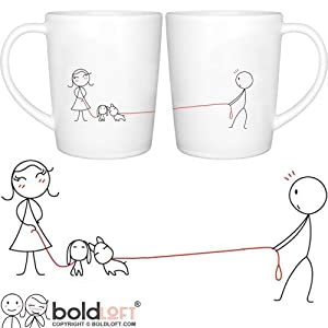 boldloft we belong together his hers coffee mugs wedding gifts wedding gifts for. Black Bedroom Furniture Sets. Home Design Ideas