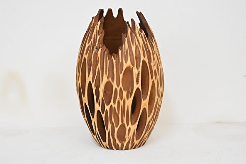 From Factory Size (8''x12''')mango wood Vases Handmade Home by NJ thongchai (Image #4)