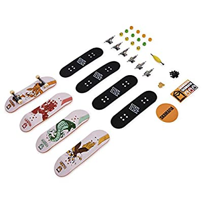 TECH DECK 96mm Fingerboards 4 Pack (Styles Vary - Style Picked at Random. One Set Supplied): Toys & Games