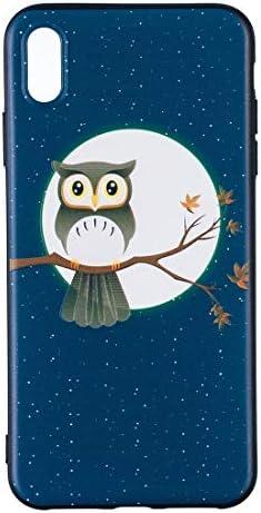 あなたの携帯電話を保護する サムスンギャラクシーA8PlusのためのエンボスパターンTPUソフトプロテクターカバーケース (パターン : Tree hawk)