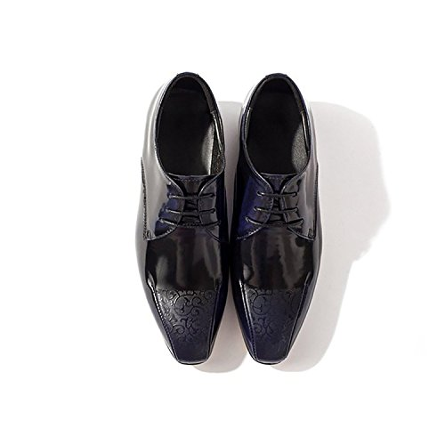 7ec8b0473ed MENSU Casual rubber oxford figure woodwork pointed lace up city ...