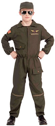 [Forum Novelties Fighter Jet Pilot Child Costume, Small] (Us Army Costumes)