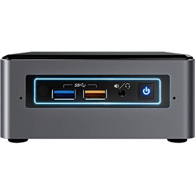 Intel NUC NUC7i7BNH Mini PC/HTPC, Intel Dual-Core i7-7567U Upto 4.0GHz, 8GB DDR4, 128GB SSD Plus 1TB HDD, Wifi, Bluetooth, Thunderbolt 3, 4k Support, Windows 10 Pro