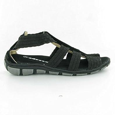 d54ea790 Adesso - Gladys Gladiator Sandals, Black, 6 UK Adult: Amazon.co.uk: Shoes &  Bags